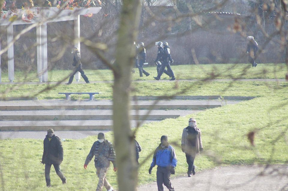 Calais seige 3