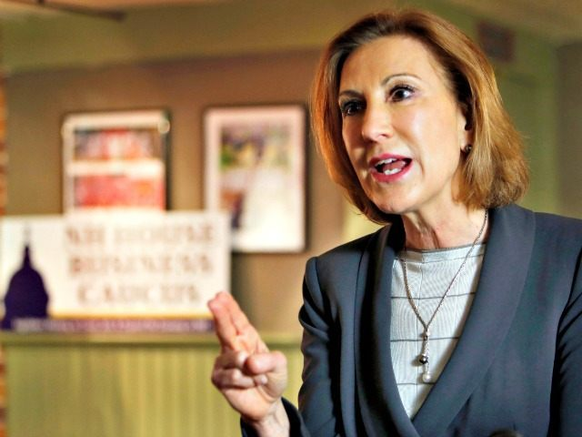 Carly Fiorina Jim Cole AP
