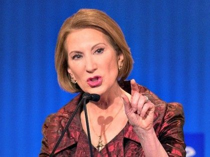 Carly Fiorina Jim Watson Getty