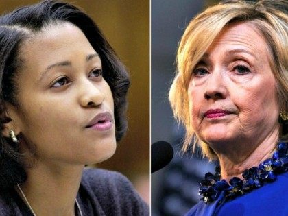 Cheryl Mills (L) Hillary Clinton AP Getty