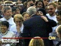 Clinton Hugs Lewinsky CNN