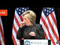 Clinton coughing fit