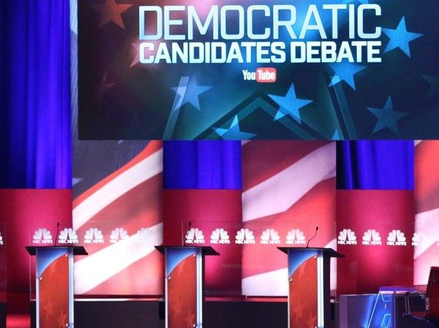 Democratic debate (Andrew Burton / Getty)