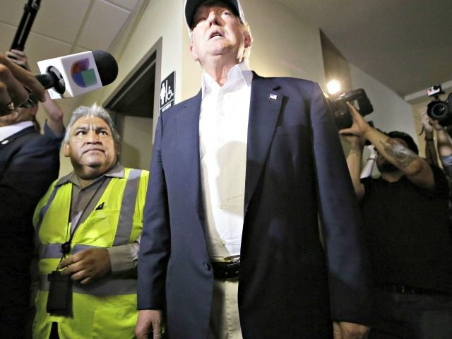Donald Trump at Border LM Otero, AP