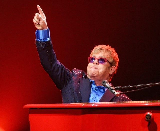 Elton John David Bowie (Rich Fury / Invision / AP)