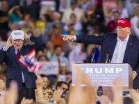 Donald Trump on August 21, 2015 in Mobile, Alabama.