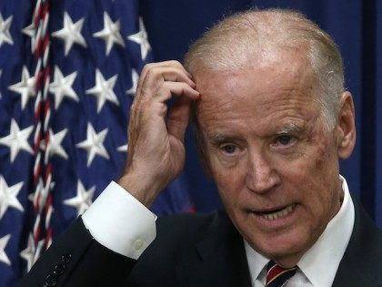 WASHINGTON, DC - OCTOBER 19: U.S. Vice President Joe Biden speaks at a White House summit on climate change October 19, 2015 in Washington, DC. Biden remains at the center of rumors regarding a potential campaign for the U.S. presidency. (Photo by Win McNamee/Getty Images)