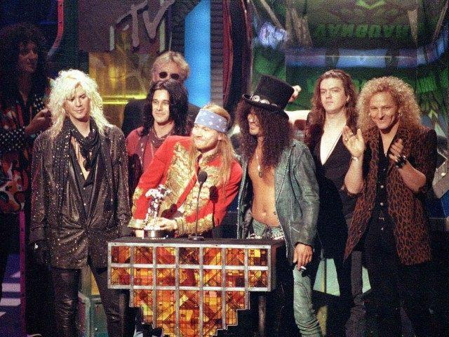 Guns N Roses (Kevork Djansezian / Associated Press)