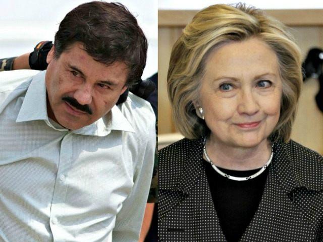 Hillary Clinton not Caught APCharlie Neibergall El Chapo Caught