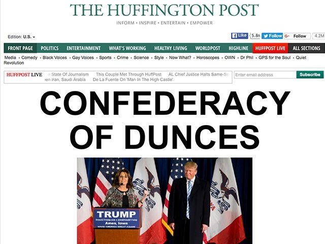 HuffPo-Trump-Palin-headline