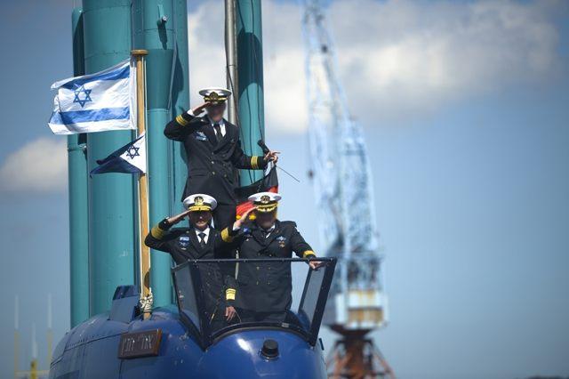 Israel navy submarine