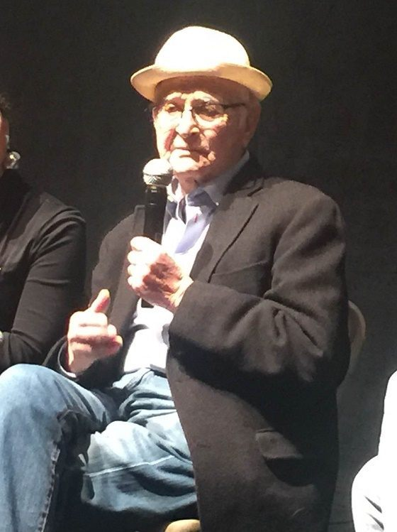 Photo of Norman Lear during Sundance Film Festival Q&A. (Photo Courtesy Nina Kuhl)