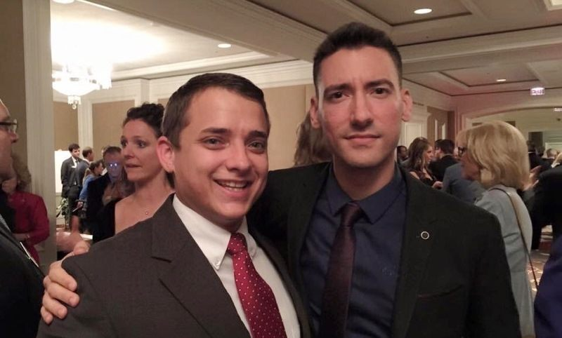 Attorney Briscoe Cain and David Daleidon.