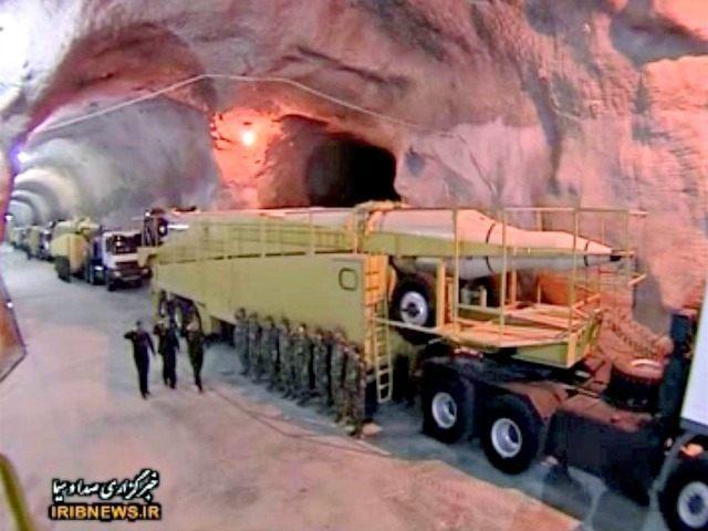 Iran Unveils Underground Ballistic Missile Site