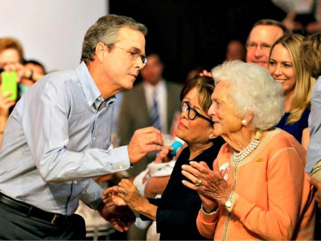 Jeb and Barbara Bush AP PhotoDavid Goldman