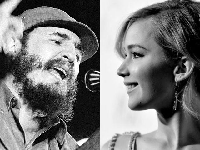 Jennifer-Lawrence-Fidel-Castro-AP-Getty