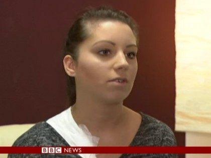 Jenny with Bandage BBC