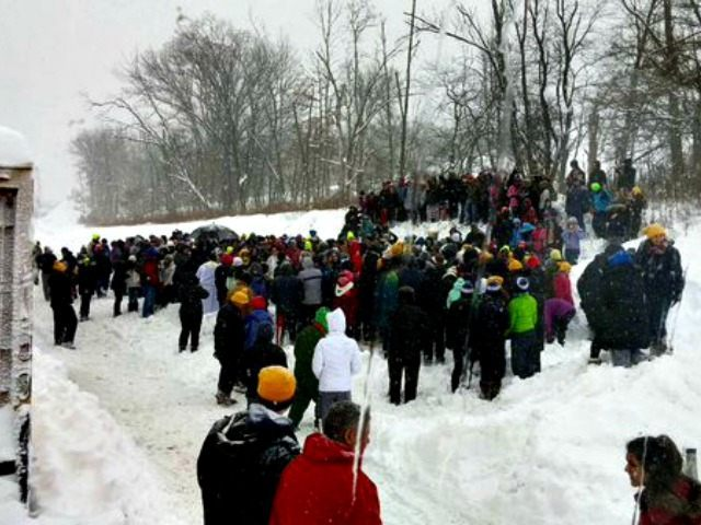 March for Life in Snow @ShirleyKWWL
