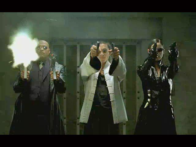 Matrix-Hollywood-gun-violence