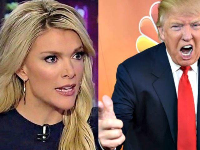 Megyn Kelly Fox ( L) Donald Trump NBC