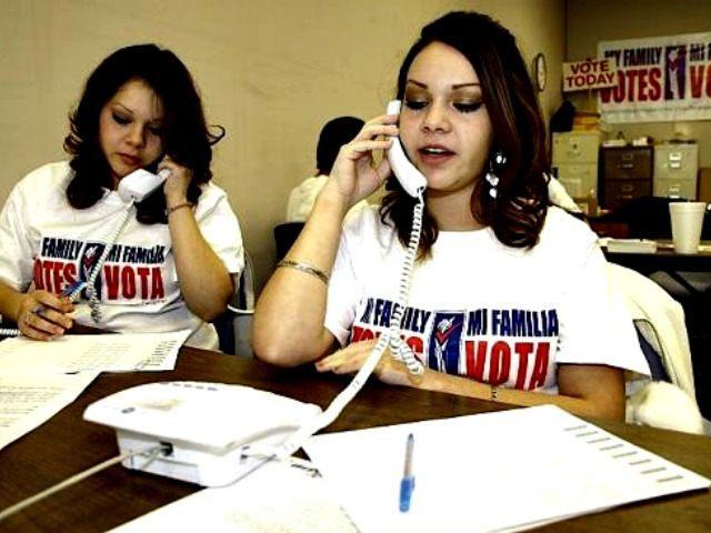Mi Familia Vota Workers AP