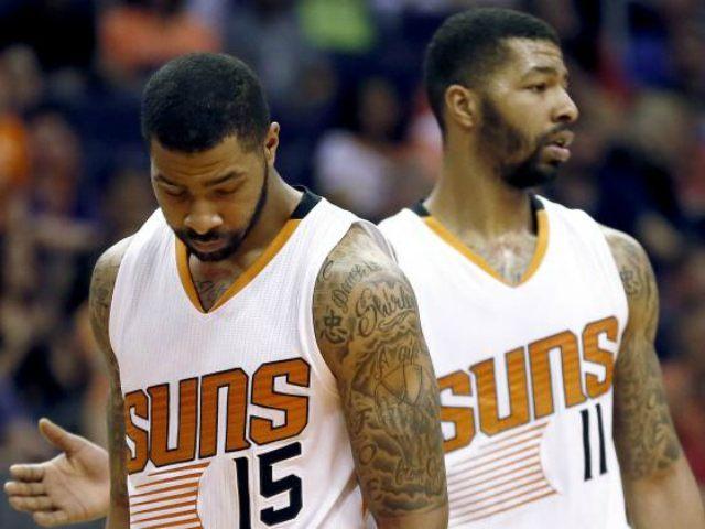 Morris Twins Phoenix Suns AP