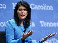 Nikki Haley (Chase Stevens / Associated Press)