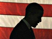 Obama against flag, silouette, profile REUTERSRamin Rahimian
