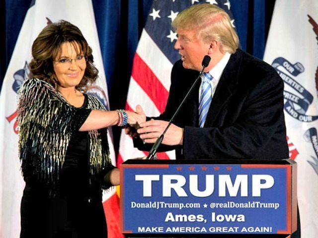 Palin Endorses Trump AP