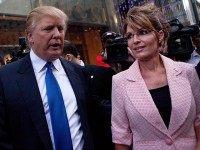 After Sarah Palin Sues, Donald Trump Rips New York Times as a 'Fake News Joke'
