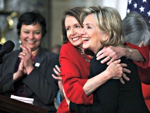 Pelosi Hillary AP