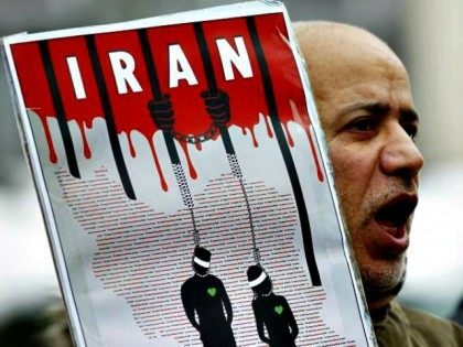 Protester Iran Executions FRANCOIS LENOIRREUTERS