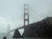Rainy Golden Gate (Eric Risberg / Associated Press)