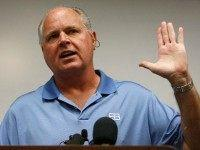 Limbaugh Warns NFL Players on Politicizing: 'You Run the Risk of Destroying' Why People Watch