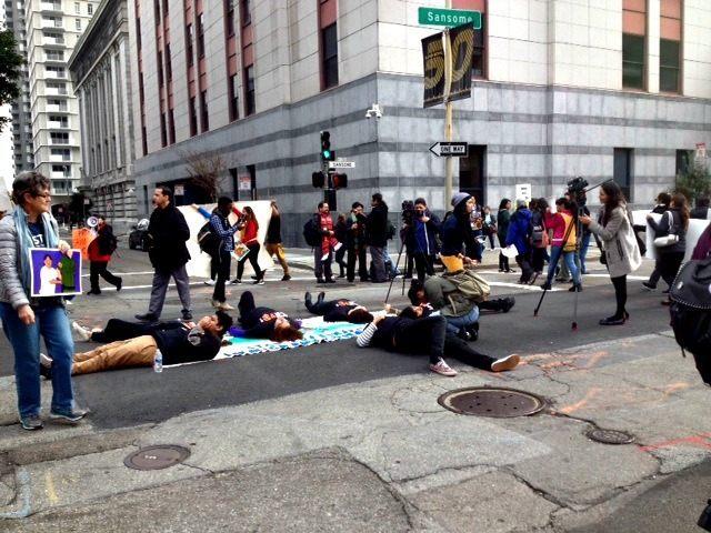 SF Illegal Immigrant Protest KRON 4