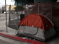 San Francisco homeless tent (Justin Sullivan / Getty)