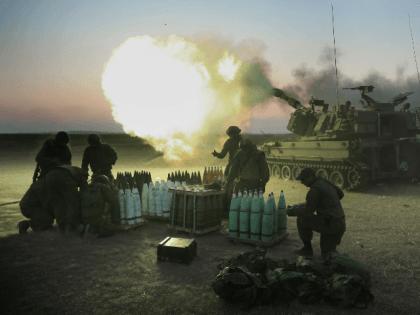 israeli artillery tank gaza