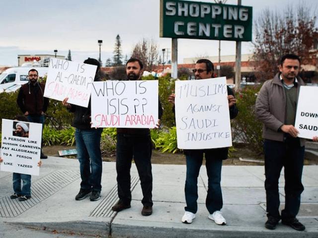 Nimr protest (Shia Multimedia Team / Facebook)