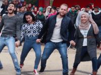 Palestinian university debka dance