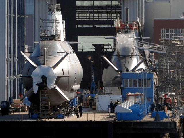 Israel Navy Dolphin-Class submarine