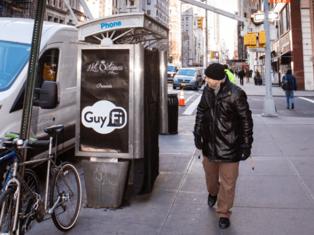 "As debate heats up over ""New York values,"" a New York entrepreneur is  providing a way for men to masturbate in public as a way to reduce stress  and leave ..."