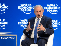 Israeli Prime Minister Benjamin Netanyahu World Economic Forum (WEF)