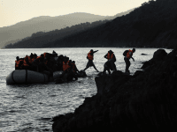 Greece Migrant Boat