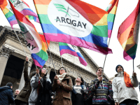 ITALY GAY LGBT RIGHTS CIVIL UNION