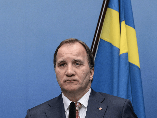 Swedish Prime Minister Stefan Loefven