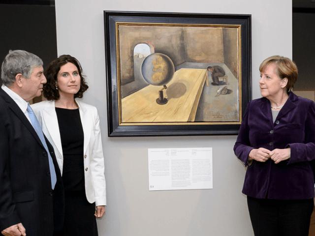 Chancellor Angela Merkel, Walter Smerling