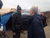 Corbyn Calais Dunkirk migrant refugee