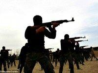 Syrian Fighters Smuggled Weapons Reuters