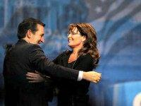 Ted Cruz and Sarah Palin Flickr Gage Skidmore