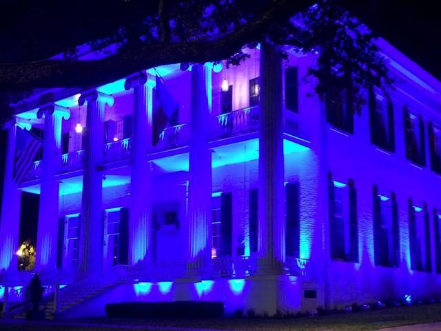 Texas Lights Up Blue To Support Police. Law Enforcement Appreciation Day Good Ideas